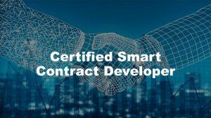 Certified Smart Contract Developer